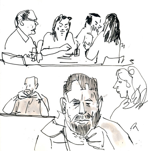 Sketchbook #104: People Watching