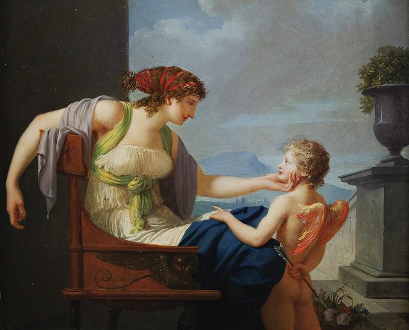 Jean-Baptiste Regnault - Venus and Cupid