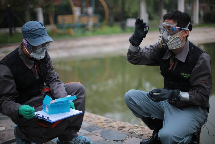 2006年-2015年間,環境監測設備銷售增長了6倍。圖片來源:Greenpeace