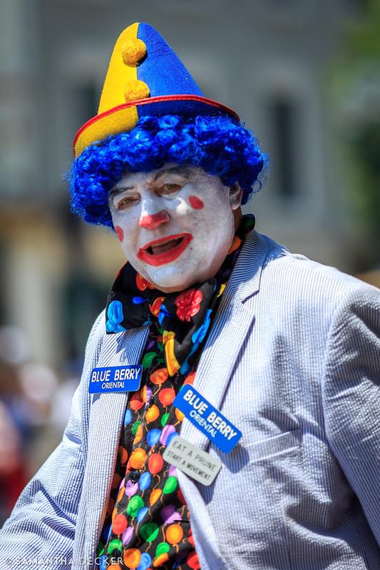 Blue Berry Clown