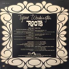 TYRONE WASHINGTON:ROOTS(JACKET B)