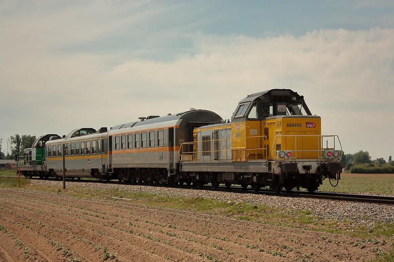 Alstom 66495 - BB 669495 / La Gorgue