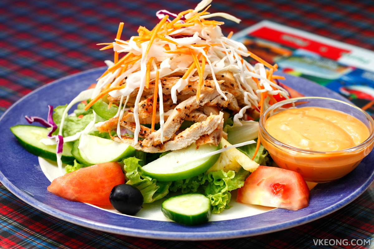 Bravo Italiana Grilled Chicken Salad