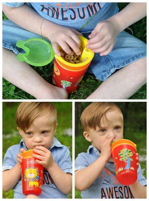 Nuby Snack N' Sip Cup