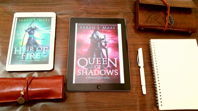 Queen of Shadows by Sarah J Maas | Throne of Glass #4