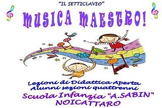 Noicattaro. Musica Maestro alla Sabin front