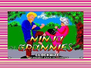 Amstrad CPC Ninja Grannies by Clockwize | by Deep Fried Brains
