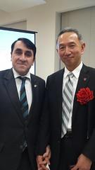 Prof Yoshiaki Terumichi Pres of Sophia University