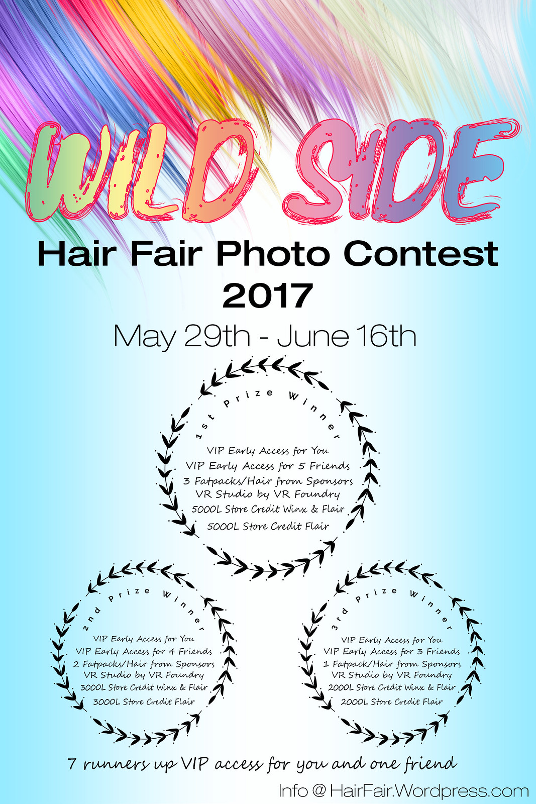 Hair Fair 2017 Photo Contest -  Wild Side