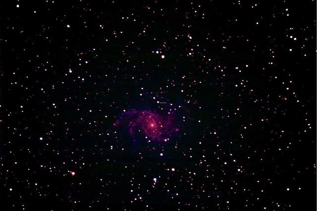 VCSE - Szupernóva az NGC 6946 galaxisban - Molnár Iván