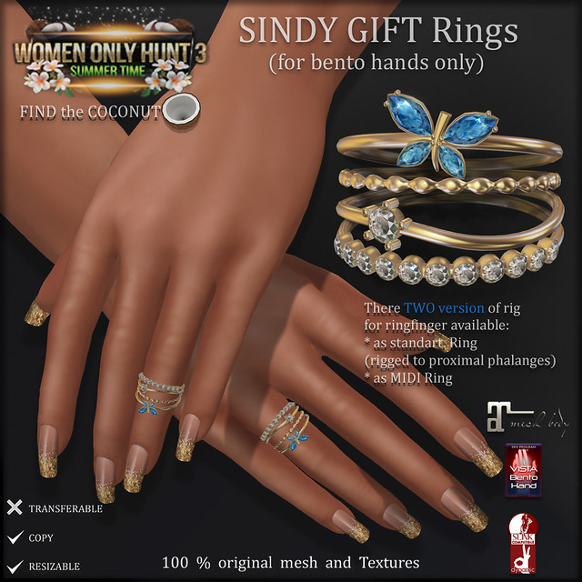 AvaWay Sindy Ring (for Women Only Hunt 3) ads