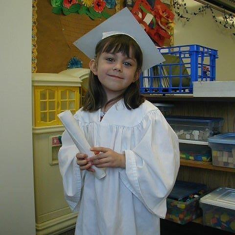 Marissa kindergarten graduation