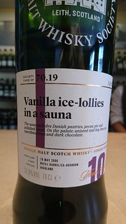 SMWS 70.19 - Vanilla ice-lollies in a sauna