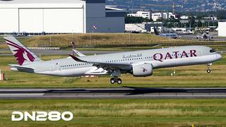 Qatar A350-941 msn 076
