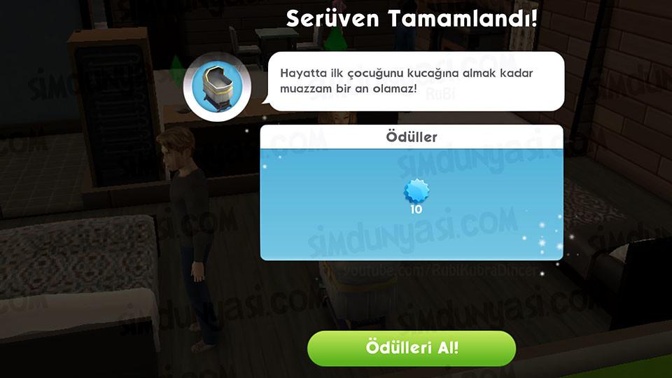 The Sims Mobile - Bebek Yap Serüveni - Serüven Tamamlandı