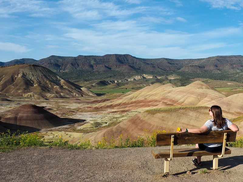 Akatuki at the Painted Hills