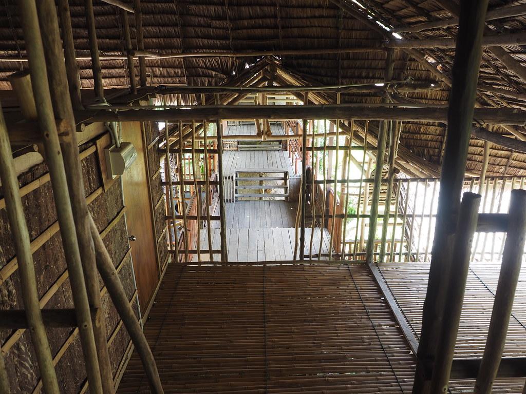 Borneon longhouse