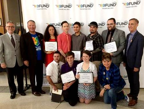 Eight LGBT Students Receive Scholarships to Honor the Pulse 49