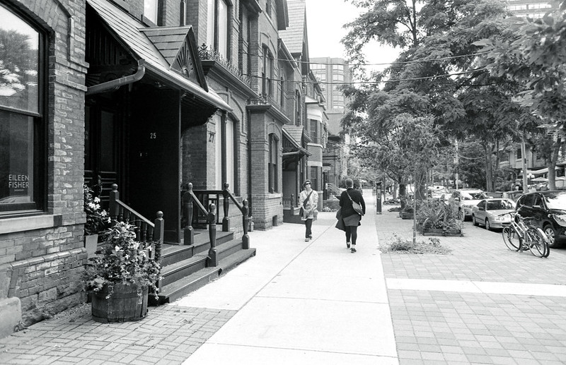 Strolling Along Prince Arthur Ave