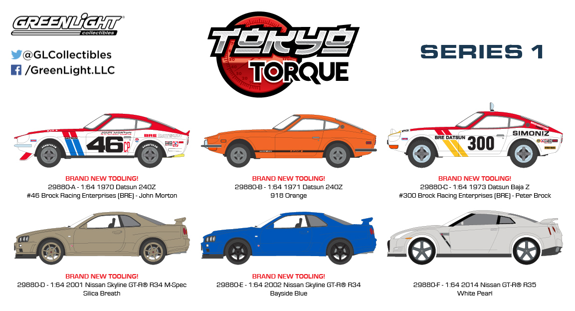 29880 - 1-64 Tokyo Torque - Series 1 - Group (High Res)