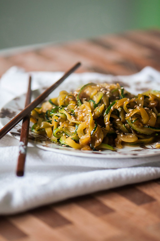 Stir Fried Zoodles