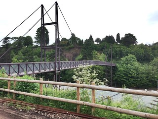 Bridgnorth foot bridge