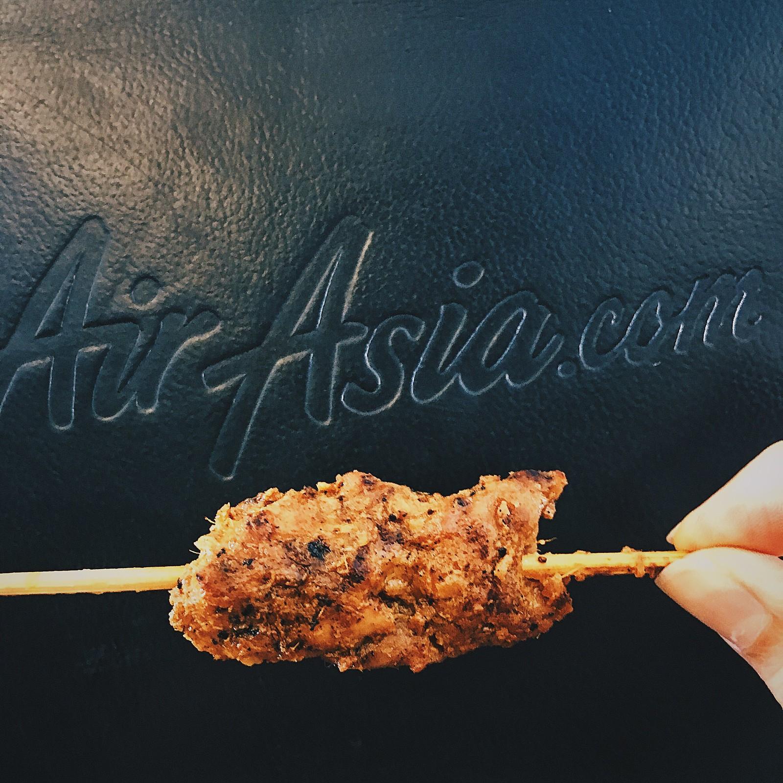 AirAsia satay