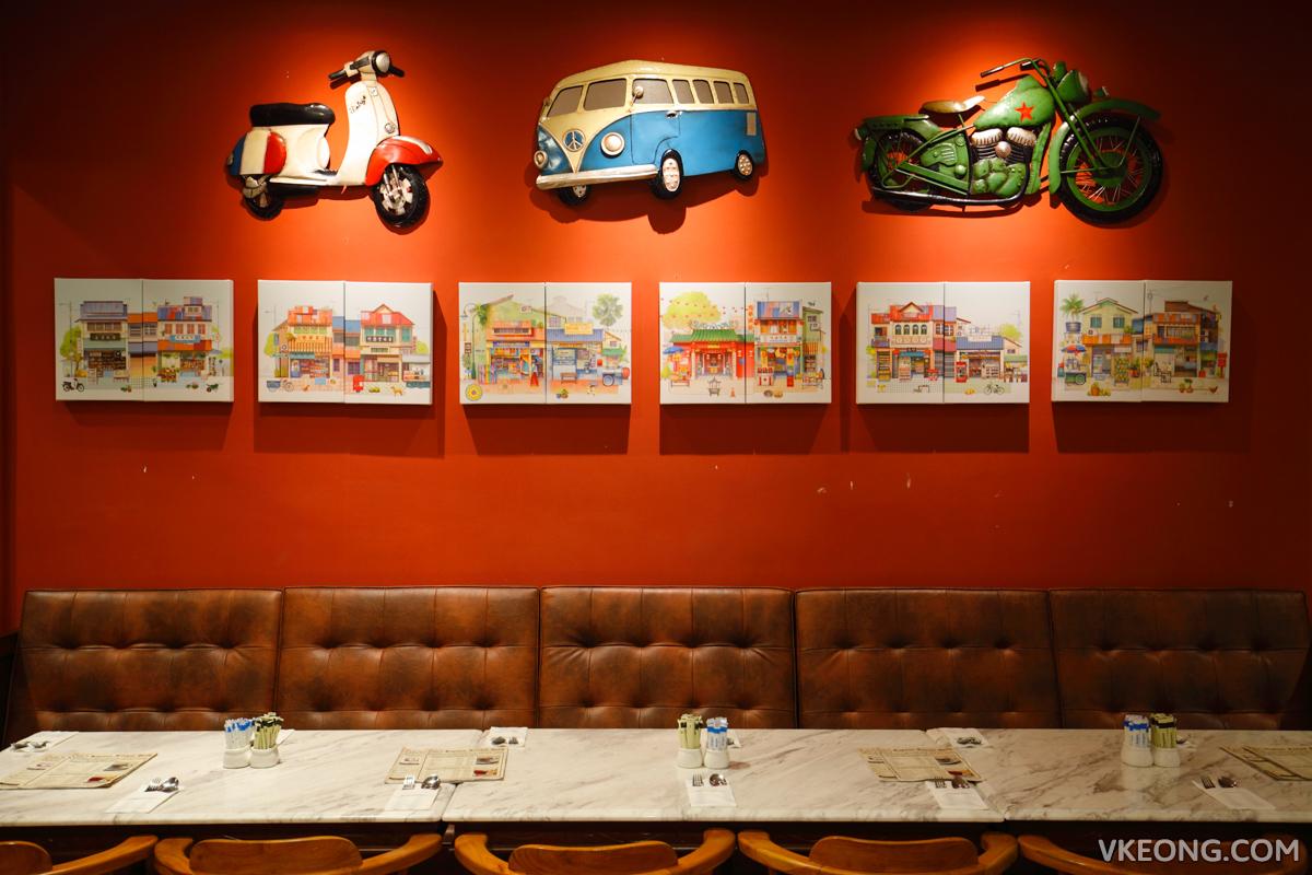 Kapitan Kongsi Hotel Melaka Restaurant Decor
