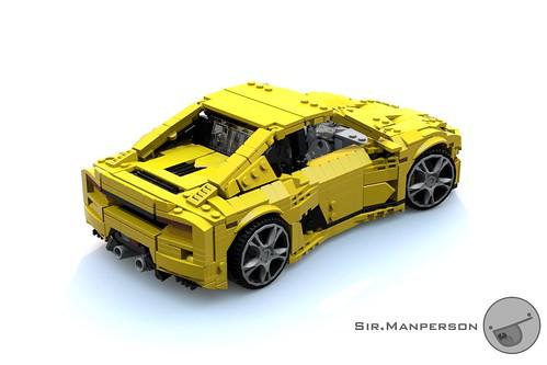 Tonagari Pequenaluz RLP rear ariel - 14-wide - Lego