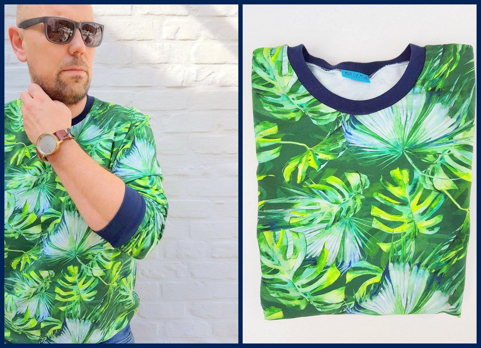 botanical sweater (collage)