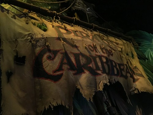Pirates of the Caribbean: Battle for Buccaneer Gold Sign | by Disney, Indiana