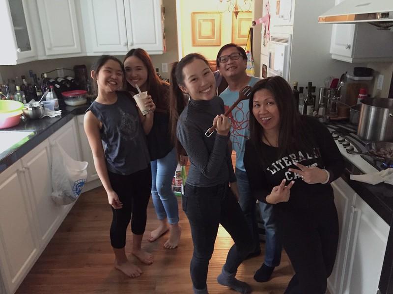 February 2017 Family Dinner