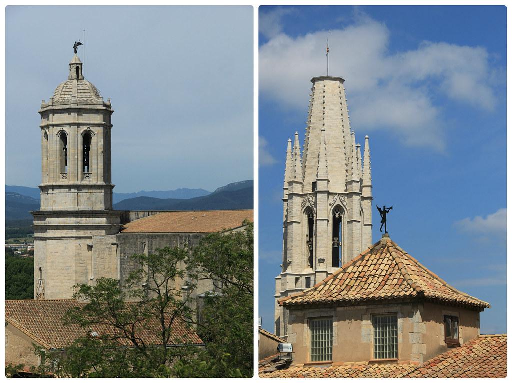 Gothic spires, Girona