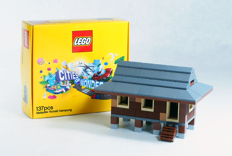 LEGO Malaysia Exclusive Cultural Mini-builds