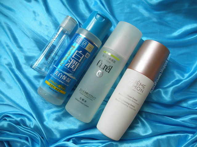 Empties Lotion First Essence Micellar Water Hada Labo Curel Creme Simone