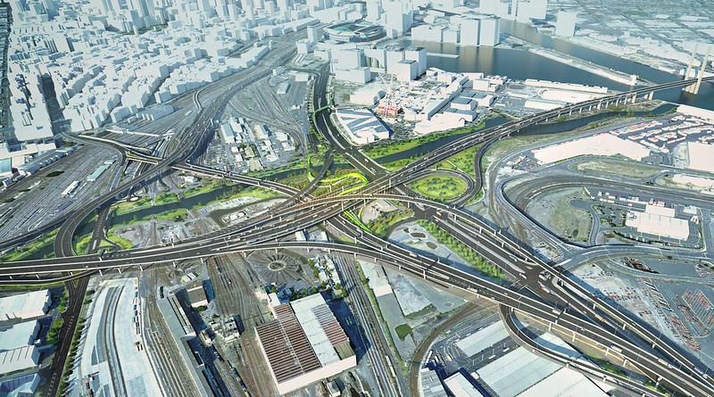 Westgate Tunnel EES: eGate spaghetti junction