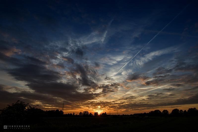 Sunset – Mechelen – 2017 05 23 – 01 – Copyright © 2017 Ivan Coninx