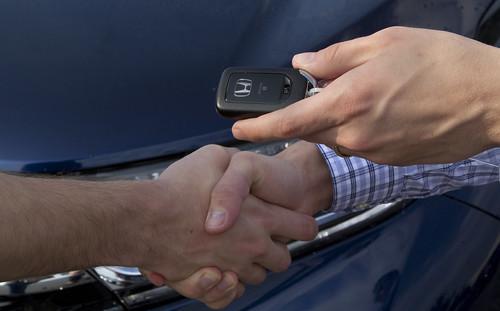 Handing Car Back To Finance Company Black Horse