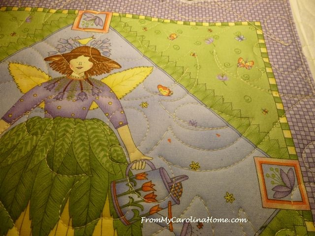 Angel Quilt at From My Carolina Home