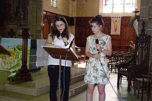 Première communion avec le JEL