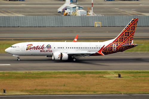 Boeing 737 MAX 8 Batik Air Malaysia 9M-LRF LN6114