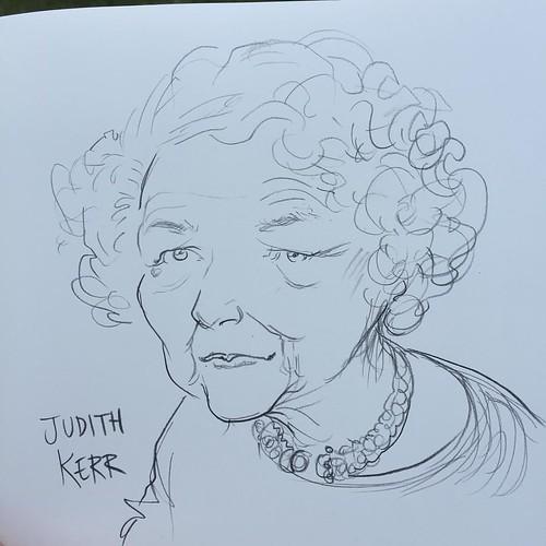 Judit Kerr, stolen, borrowed from Chris Riddell