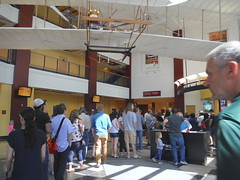 Ford Museum ticket line