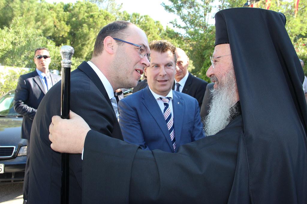 Ο Αντιπρόεδρος της Κυβέρνησης της Κροατίας προσκυνά την Αγία Ελένη