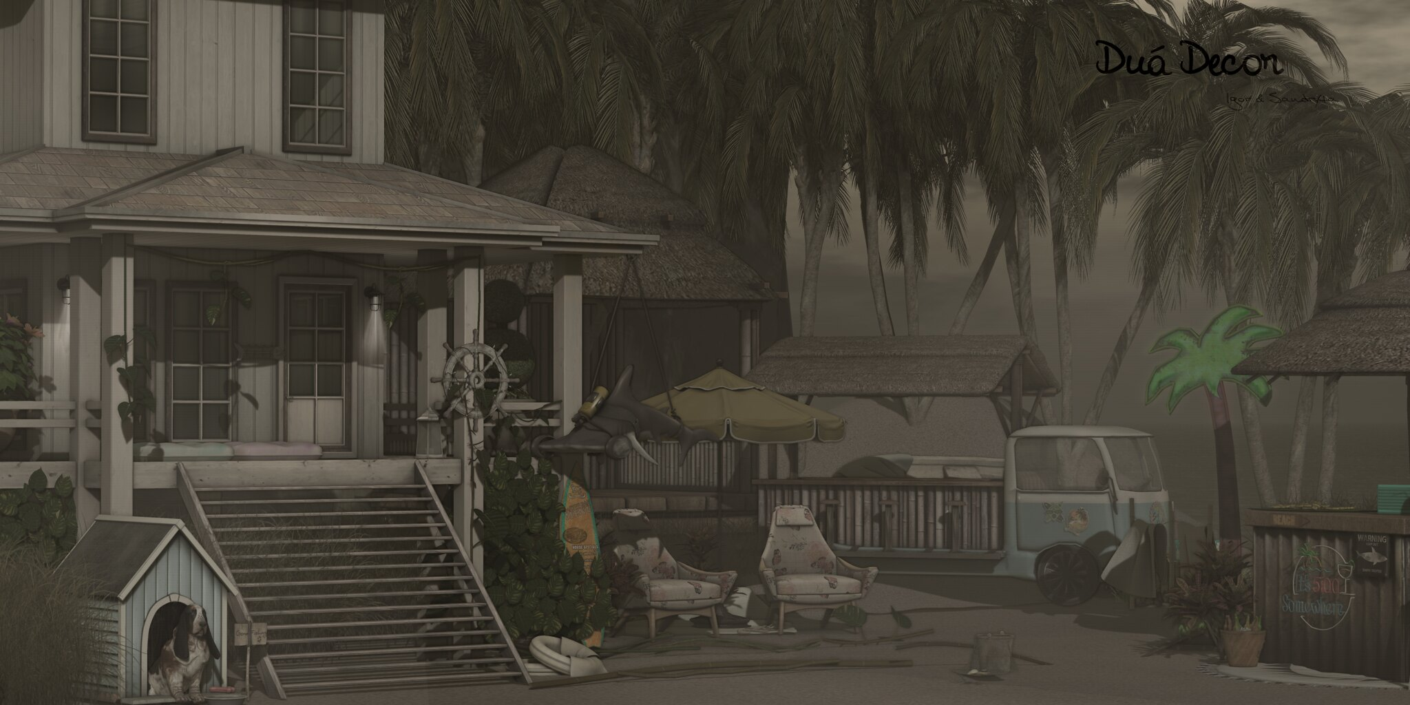 POST🔥 #715 | Trompe Loeil | Apple Fall | FAMESHED | Tropical Summer