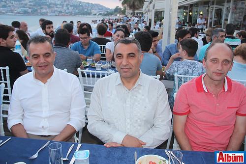 Hüseyin Güney, Mustafa Harputlu, Serkan Akbaba