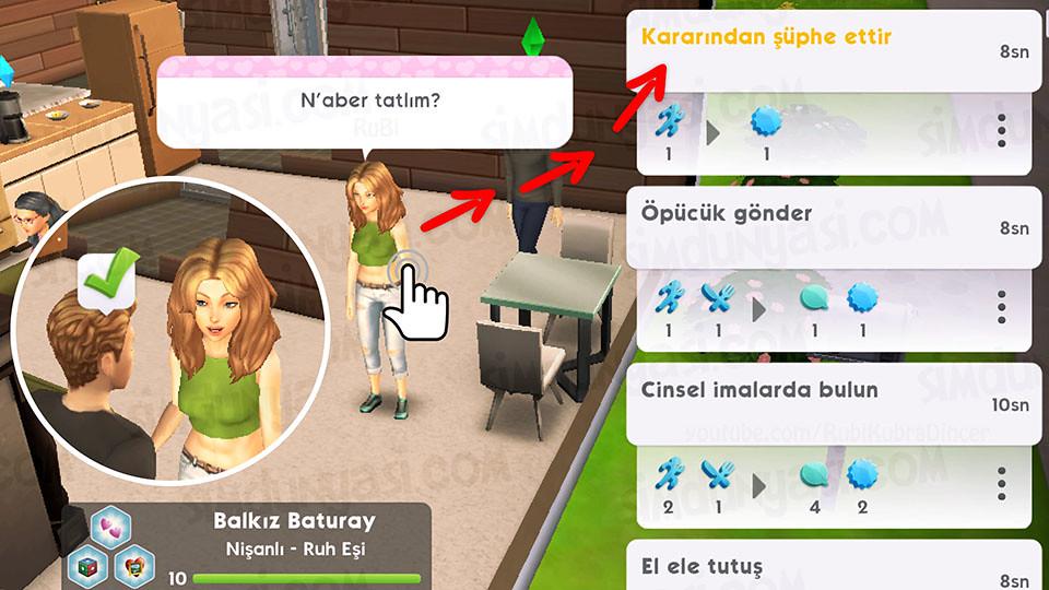 The Sims Mobile Evlenmek - Düğün Serüveni - Kararından Şüphe Ettir
