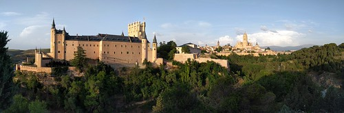 Alcázar and Cathedral - Segovia, Spain