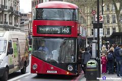 Wrightbus NRM NBFL - LTZ 1125 - LT125 - Shepherd's Bush 148 - RATP London United - London 2017 - Steven Gray - IMG_9183