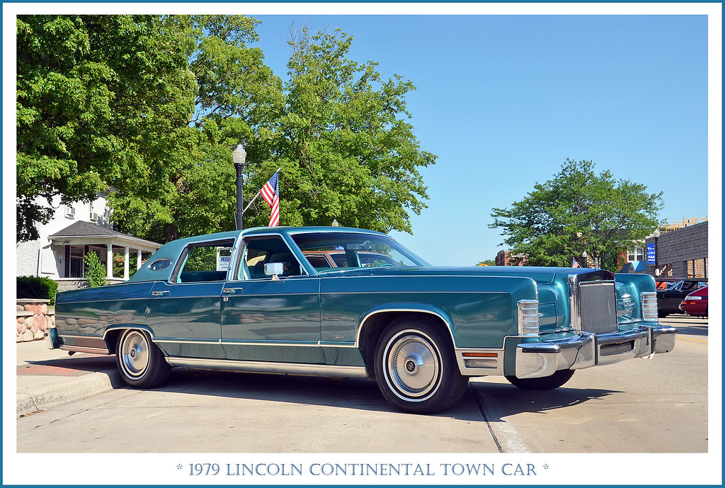 1979 Lincoln Continental Town Car The June 12 2017 Cruis Flickr